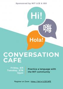 LCE Conversation Cafe